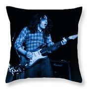 Kent #136 In Blue Throw Pillow