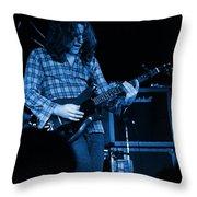 Kent #23 Crop 2 In Blue Throw Pillow
