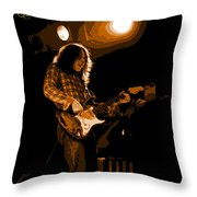 Kent #83 In Amber With Text Throw Pillow