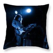 Kent #83 In Blue Throw Pillow