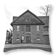 Kentlands Arts Barn Throw Pillow