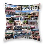 Kentlands Restaurants 2011 Throw Pillow