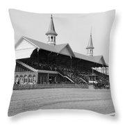 Kentucky Derby, 1901 Throw Pillow