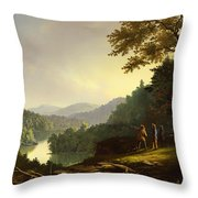 Kentucky Landscape 1832 Throw Pillow