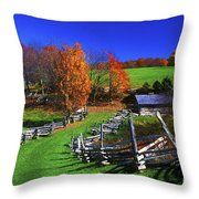 Kentucky Settlement Throw Pillow