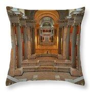 Kentucky State Capital Building Throw Pillow