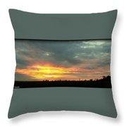 Kentucky Sunrise  Throw Pillow