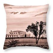 Kentucky - United States Bullion Depository Fort Knox Throw Pillow
