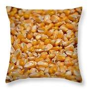 Kernels Galore Throw Pillow
