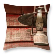 Kerosene Lantern Throw Pillow