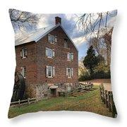 Kerr Mill Panorama Throw Pillow
