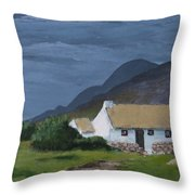 Kerry Cottage Throw Pillow