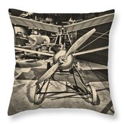 Kettering Aerial Torpedo Bug Throw Pillow