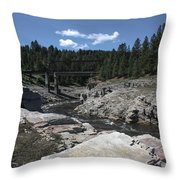 Kettle River Throw Pillow