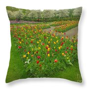 Keukenhof Gardens 29 Throw Pillow