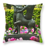 Keukenhof Gardens 30 Throw Pillow