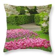 Keukenhof Gardens 35 Throw Pillow