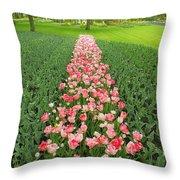 Keukenhof Gardens 41 Throw Pillow
