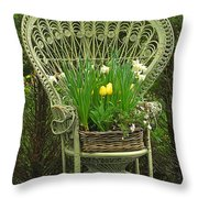 Keukenhof Gardens 43 Throw Pillow
