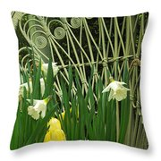 Keukenhof Gardens 45 Throw Pillow