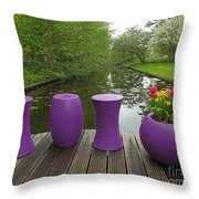 Keukenhof Gardens 47 Throw Pillow