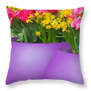 Keukenhof Gardens 48 Throw Pillow