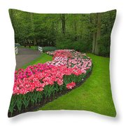 Keukenhof Gardens 51 Throw Pillow