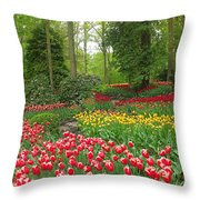 Keukenhof Gardens 53 Throw Pillow