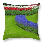 Keukenhof Gardens 62 Throw Pillow