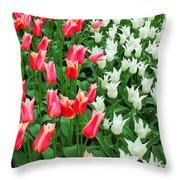 Keukenhof Gardens 7 Throw Pillow