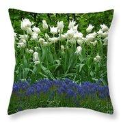 Keukenhof Gardens 92 Throw Pillow