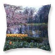 Keukenhof Spring Throw Pillow