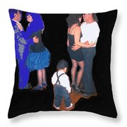 Kevin Howard's Wedding Dancers Tucson Arizona 1990-2012 Throw Pillow