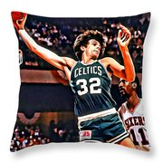 Kevin Mchale Throw Pillow