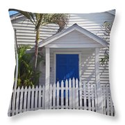 Key West Fl 43 Throw Pillow