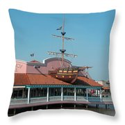 Key West Grill Throw Pillow