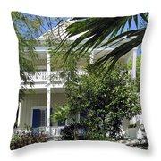Key West House Throw Pillow