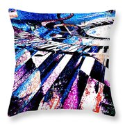 Keyboard Whimsy Throw Pillow
