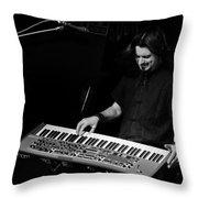 Keyboards Throw Pillow