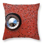 Keyhole Cover Throw Pillow