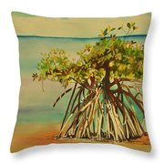 Keys Mangrove Throw Pillow