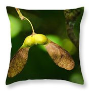 Keys Of The Forest Throw Pillow