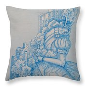 Keys To The City Throw Pillow