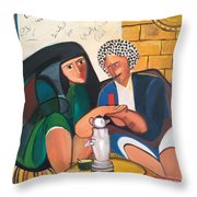Khadri El Chai Khadri  Throw Pillow