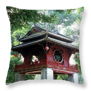Khue Van Cac Gate Throw Pillow