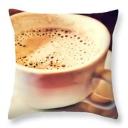 Kick Starter Throw Pillow