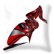 Kicky Heels By Jammer Throw Pillow