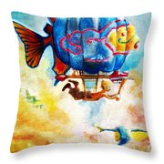Kiddography Cover By Tom Kidd Throw Pillow