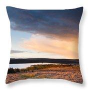 Kielder At Sunset Throw Pillow