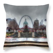 Kiener Plaza Throw Pillow